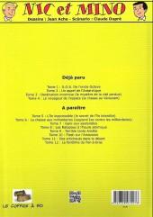 Verso de Nic et Mino (Le Coffre à BD) -2- Un appel de l'Antarctique
