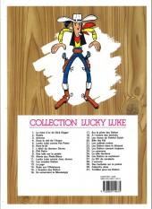 Verso de Lucky Luke -27e16- Le 20ème de cavalerie