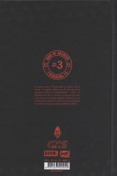 Verso de Sons of Anarchy -3- Tome 3
