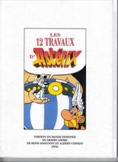 Verso de Astérix (Hors Série) -1Pir2- Les 12 Travaux d'Astérix