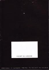 Verso de (Catalogues) Éditeurs, agences, festivals, fabricants de para-BD... - Catalogue - Zenda