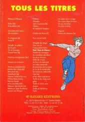 Verso de (Catalogues) Éditeurs, agences, festivals, fabricants de para-BD... - Bayard - 1990 - Catalogue