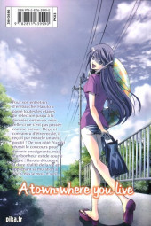 Verso de A town where you live -22- Tome 22