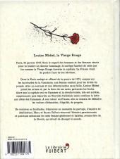 Verso de Louise Michel, la vierge rouge