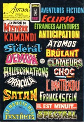 Verso de Le fils de Satan -6- Le sorcier des ténèbres