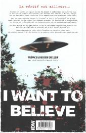 Verso de X-Files (The) -3- Les nouvelles affaires non classées
