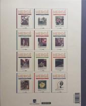 Verso de Hergé - Le Feuilleton intégral -7- 1937 - 1939