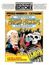 Verso de Martin Mystère (detective dell'impossibile) -26b- Il mostro d'acciaio