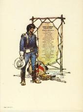 Verso de Blueberry -5a84a- La piste des navajos