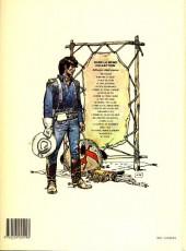Verso de Blueberry -11c1989- La mine de l'Allemand perdu