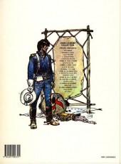 Verso de Blueberry -12b1988- Le spectre aux balles d'or