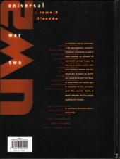 Verso de Universal War Two -3- L'Exode