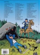 Verso de Les tuniques Bleues -60- Carte blanche pour un Bleu