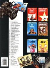 Verso de Spirou et Fantasio -31c97- La boite noire