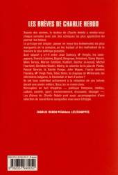 Verso de Charlie Hebdo - Les brèves de Charlie Hebdo