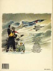 Verso de Tanguy et Laverdure -18b1988- Un DC-8 a disparu