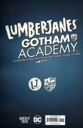 Verso de Lumberjanes/Gotham Academy (2016) -5- Lumberjanes / Gotham Academy Part 5 of 6