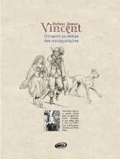 Verso de Vincent - Un saint au temps des mousquetaires - Tome TL