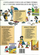 Verso de Benoît Brisefer -10b2001- La route du Sud