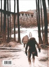Verso de Le temps des sauvages - Le Temps des sauvages