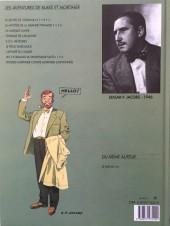 Verso de Blake et Mortimer (Les Aventures de) -6b1993a- La Marque Jaune