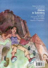 Verso de Les aventures d'Aline -1- Le Manuscrit du Lichtenberg