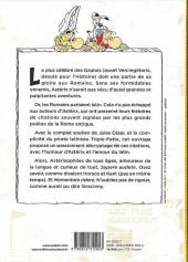 Verso de Astérix (Autres) - Les Citations latines expliquées de A à Z