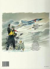 Verso de Tanguy et Laverdure -2e1989- Pour l'honneur des Cocardes