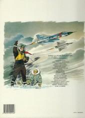 Verso de Tanguy et Laverdure -5e1988- Mirage sur l'Orient