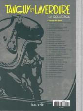 Verso de Tanguy et Laverdure - La Collection (Hachette) -1- L'École des Aigles