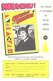 Verso de Capitaine America (Éditions Héritage) -10- Le grand sommeil!
