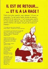 Verso de Tintin - Pastiches, parodies & pirates - Vive la Révolution !