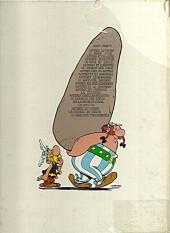 Verso de Astérix -1c76- Astérix le gaulois