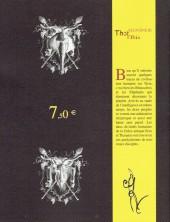 Verso de Rhinocéros contre Eléphant -3- Printemps 2002