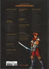 Verso de Lanfeust et les mondes de Troy - La collection (Hachette) -40- Nuit Safran - Albumen l'Ethéré