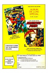 Verso de Capitaine America (Éditions Héritage) -102103- La conspiration de Lazare!