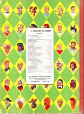 Verso de Blake et Mortimer (Historique) -1a57- Le secret de l'espadon - Tome I