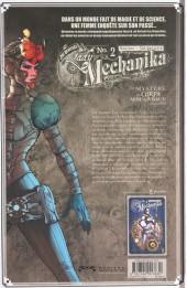 Verso de Lady Mechanika -2- Le Mystère du corps mécanique (2e partie)
