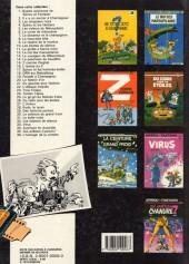 Verso de Spirou et Fantasio -4g86- Les Héritiers