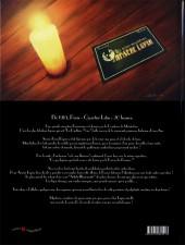 Verso de Les 1000 mystères d'Arsène Lupin -1- L'Illusion de la Panthère Noire !