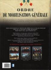 Verso de Un village français -3- 1916