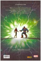 Verso de Thanos : La Trilogie de l'infini (2014) -3- Thanos : La fin de l'infini