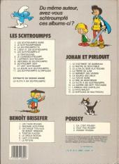 Verso de Johan et Pirlouit -10c85- La guerre des 7 fontaines