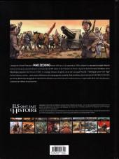 Verso de Ils ont fait l'Histoire -17- Mao Zedong