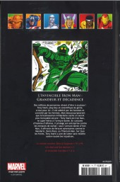 Verso de Marvel Comics - La collection (Hachette) -71V- L'Invincible Iron Man - Grandeur et Décadence