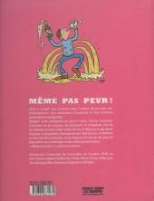Verso de Charlie Hebdo - Une année de dessins -2016- Même pas peur
