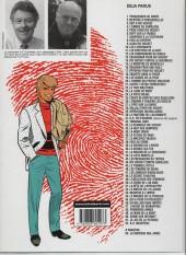 Verso de Ric Hochet -3b00- Défi à ric hochet