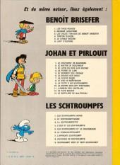 Verso de Johan et Pirlouit -6d76- La source des dieux