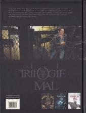 Verso de La trilogie du mal -3- L'Âme du Mal
