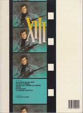 Verso de XIII -5a1990/09- Rouge total